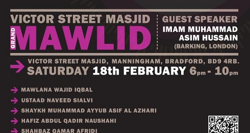 Grand Mawlid 2012 - The Month of Light has arrived